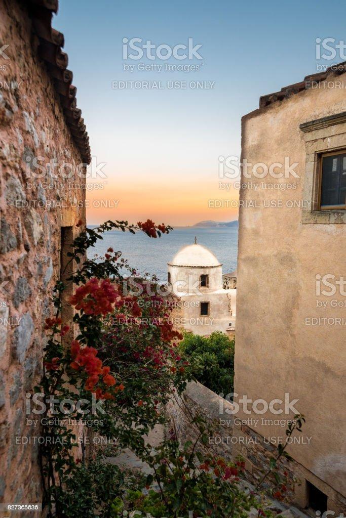 Monemvasia - Greece (May 2016) stock photo