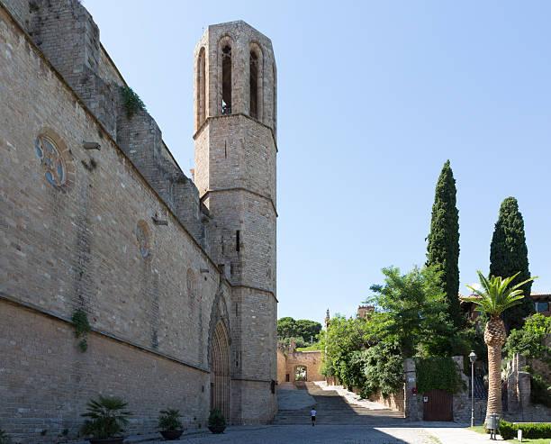 Monestir de Pedralbes (Monastery) stock photo