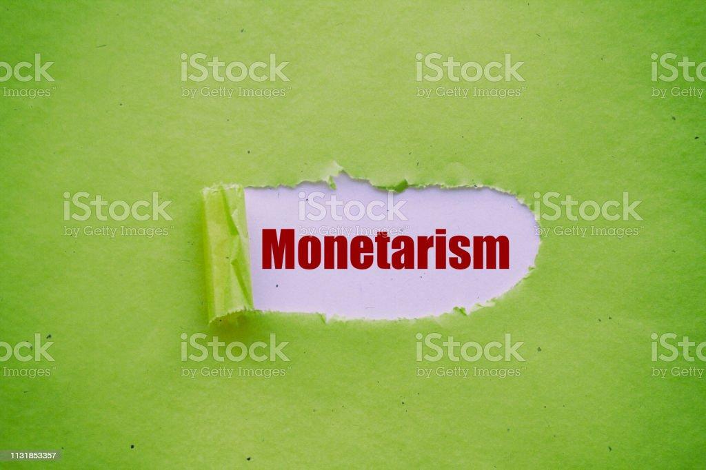 Monetarizm stok fotoğrafı