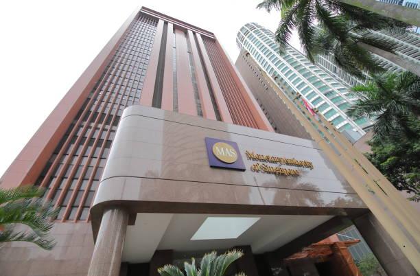Monetary Authority of Singapore MAS stock photo