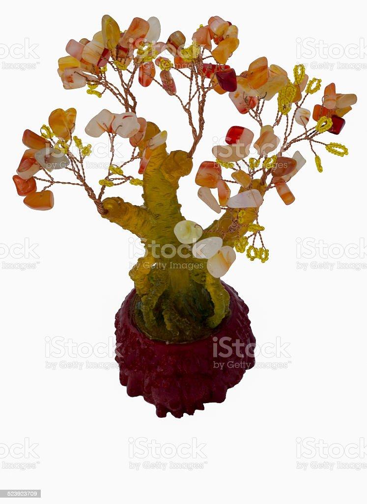 Monetary family tree stock photo
