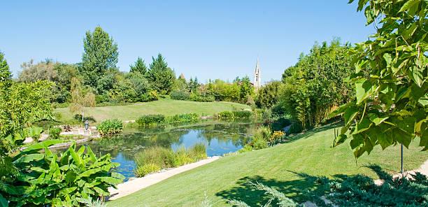 Monet's Garden stock photo