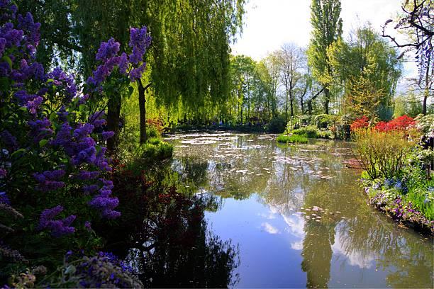 Monet´s Garden stock photo