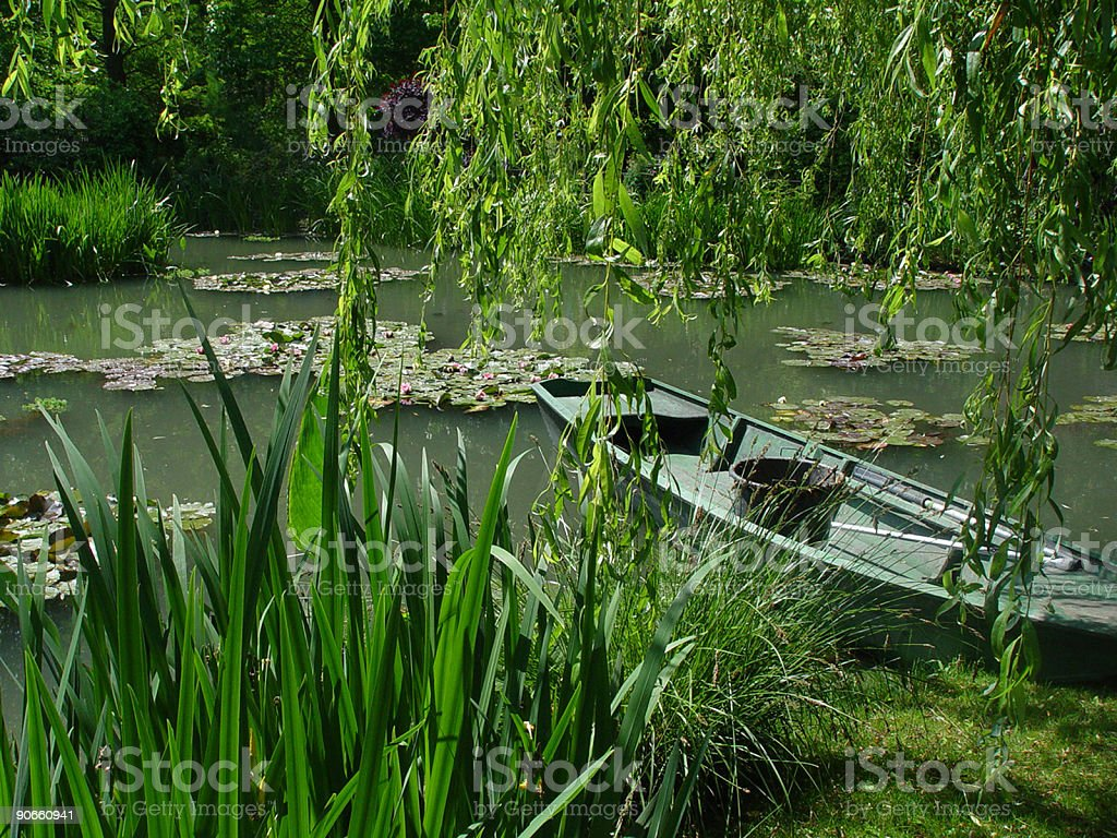 Monetu0027s Water Lily Pond Royalty Free Stock Photo