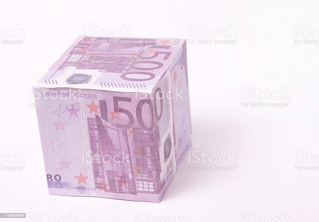 money  500 EURO royalty-free stock photo