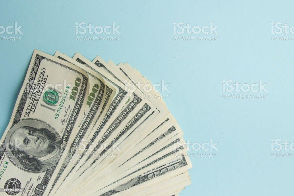 金錢美國美元背景 - 免版稅一百美元鈔票圖庫照片