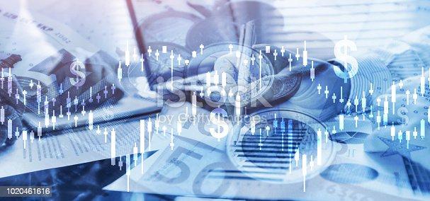 istock money and finance, financial business analytics intelligence 1020461616