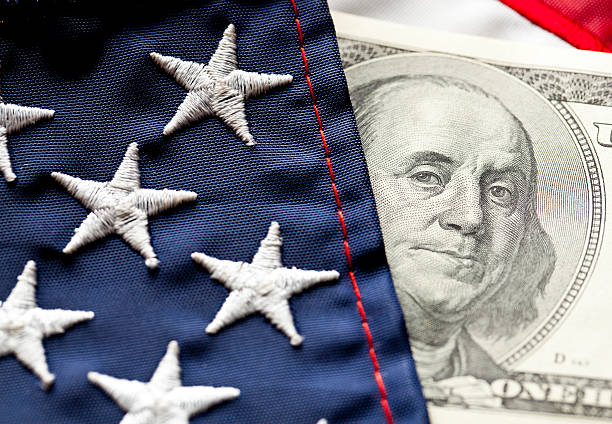 money and flag - government stock pictures, royalty-free photos & images