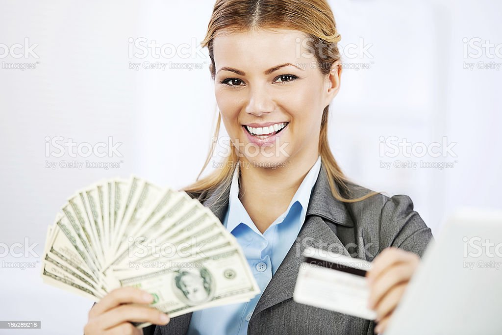 Money and shopping. royalty-free stock photo