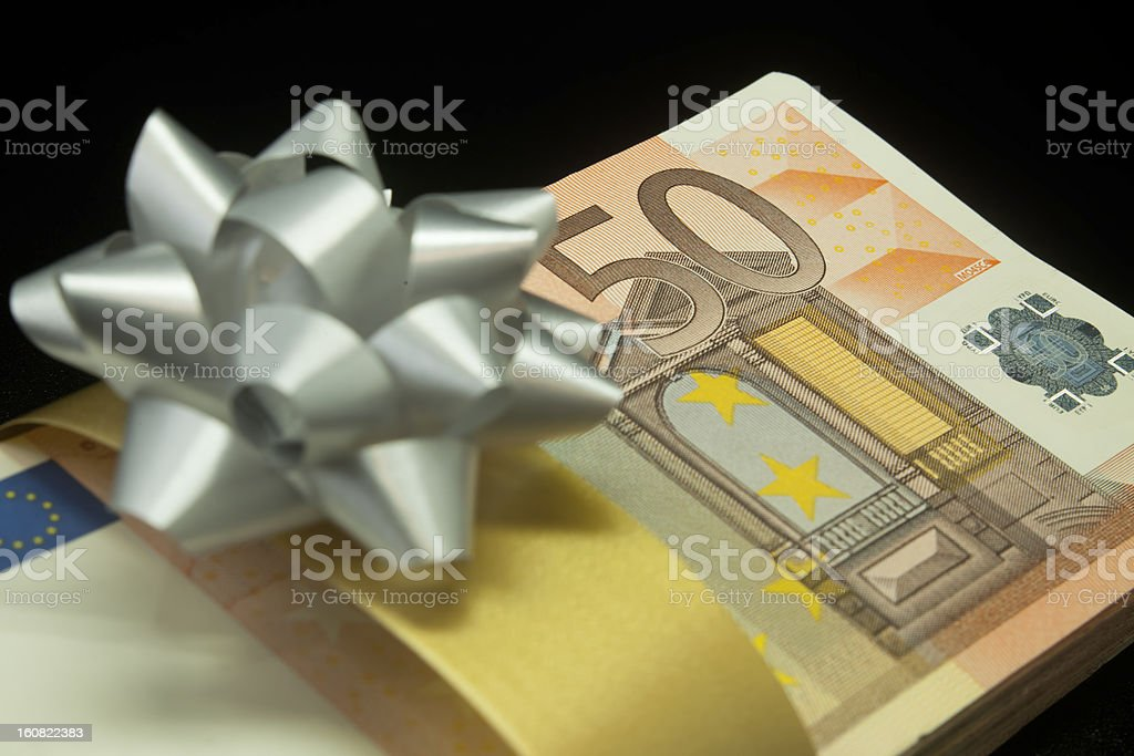 Money as a gift. royalty-free stock photo