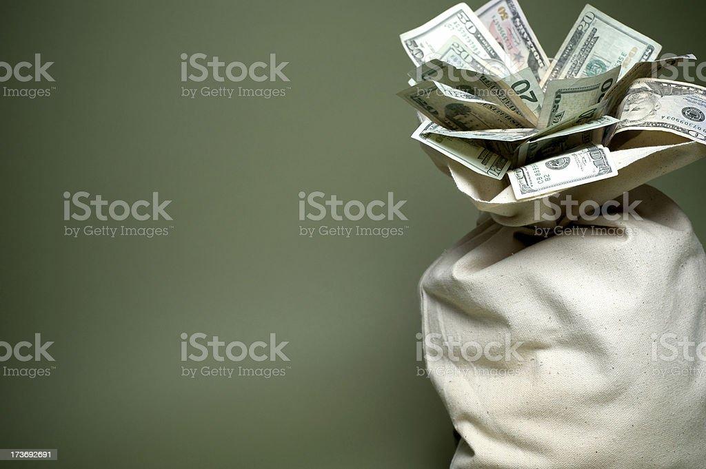 Cenário de dinheiro - foto de acervo
