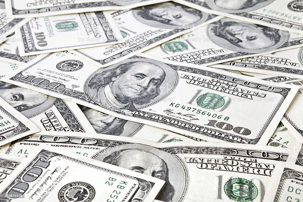 money background from dollars usa stock photo