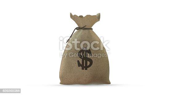 istock Money Bag Dollar 639365088