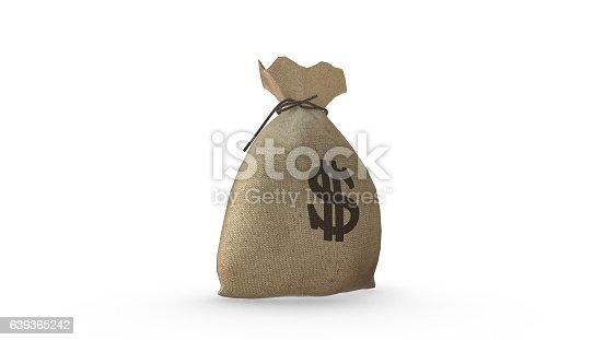 istock Money Bag Dollar 639365242