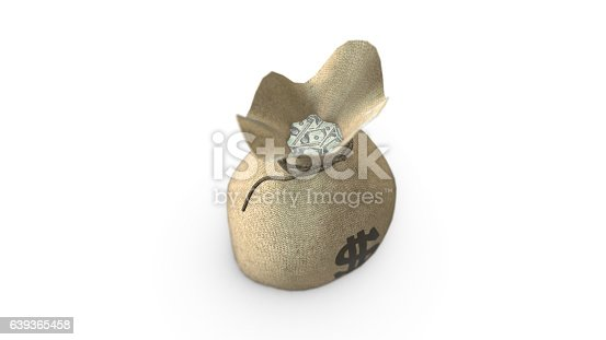 istock Money Bag Dollar 639365458