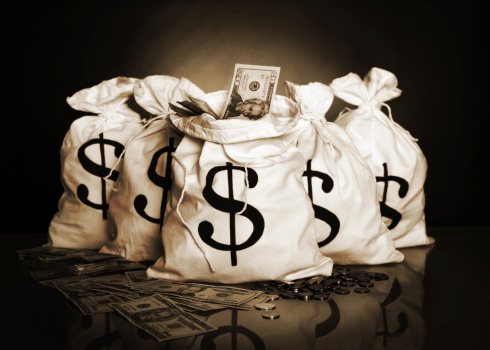 Money Bags Stock Photo - Download Image Now