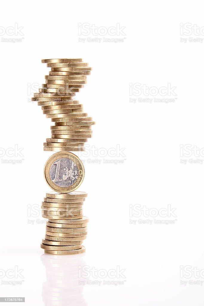 Money balance. royalty-free stock photo