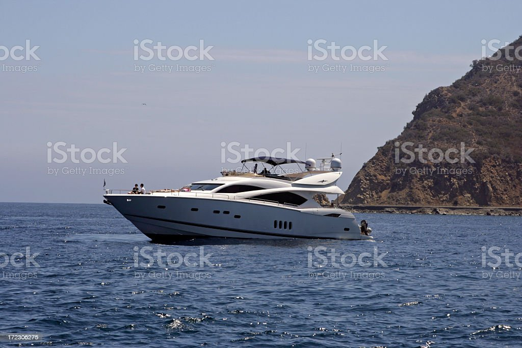 Money Boat royalty-free stock photo