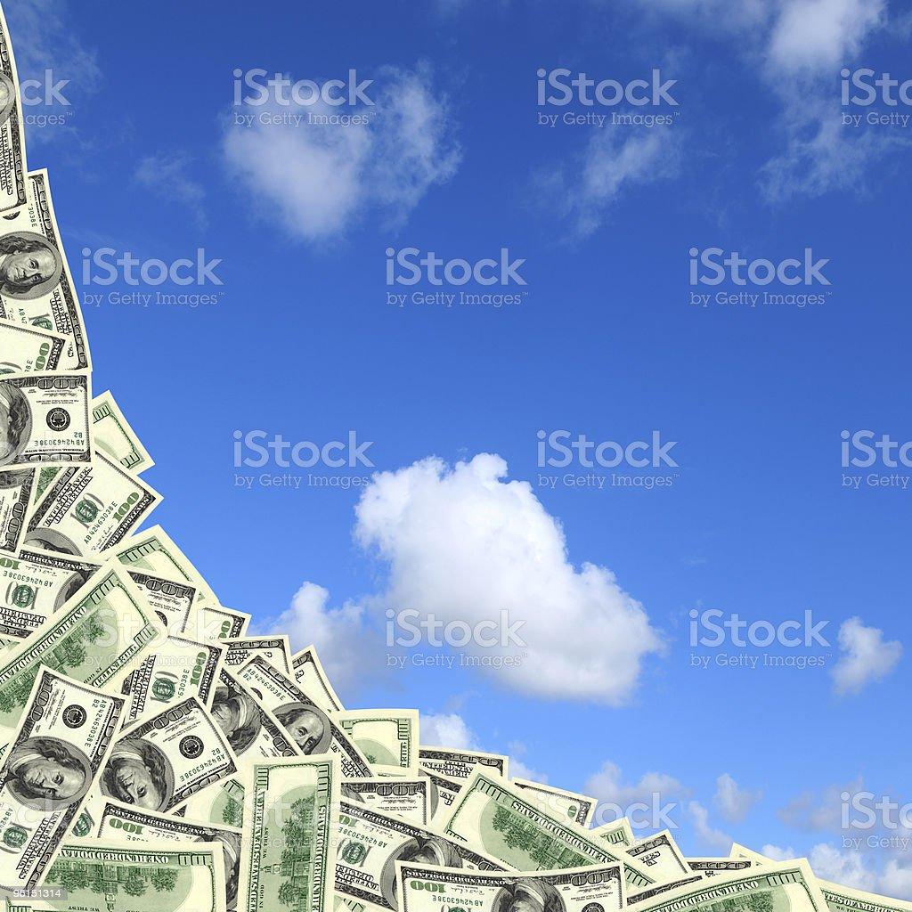 money border royalty-free stock photo