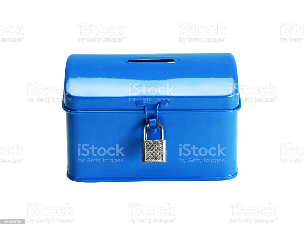 Money Box (Click for more) royalty-free stock photo