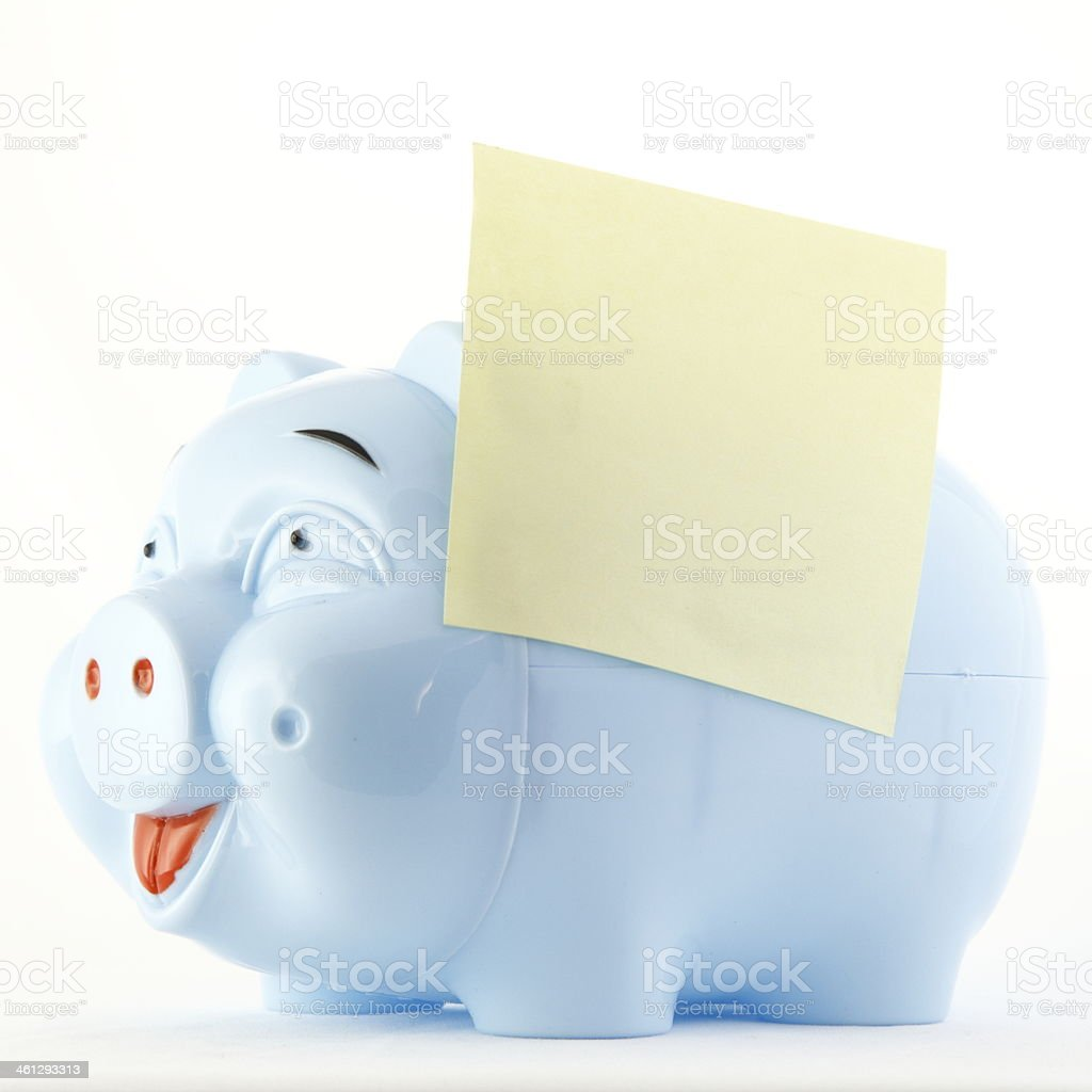 Money Box royalty-free stock photo
