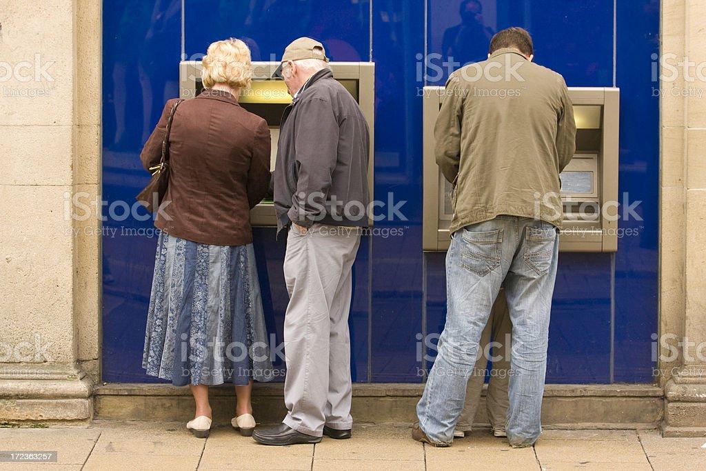 Money Boxes (ATM, bank, cash) royalty-free stock photo