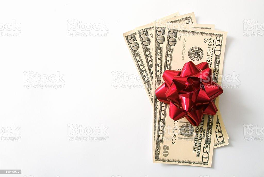 Money Cash Present Gift stock photo