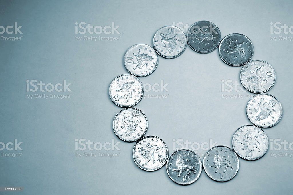 money circle royalty-free stock photo