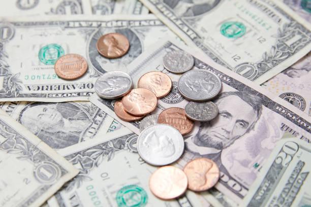 Money Coins Cash stock photo