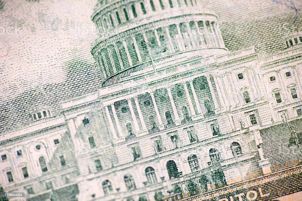 Money Detail royalty-free stock photo