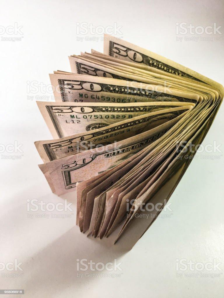 para Doları arka plan ünitesi izole stok fotoğrafı