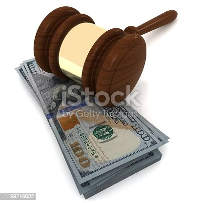 1024130248 istock photo Money dollar currency business law gavel 1199216632