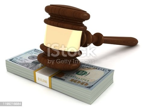 1024130248 istock photo Money dollar currency business law gavel 1199216684