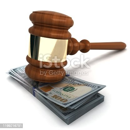 1024130248 istock photo Money dollar currency business law gavel 1199216751