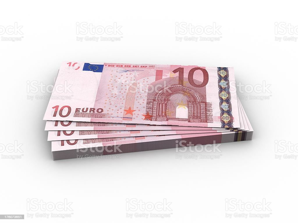 Money - Euro Currency royalty-free stock photo