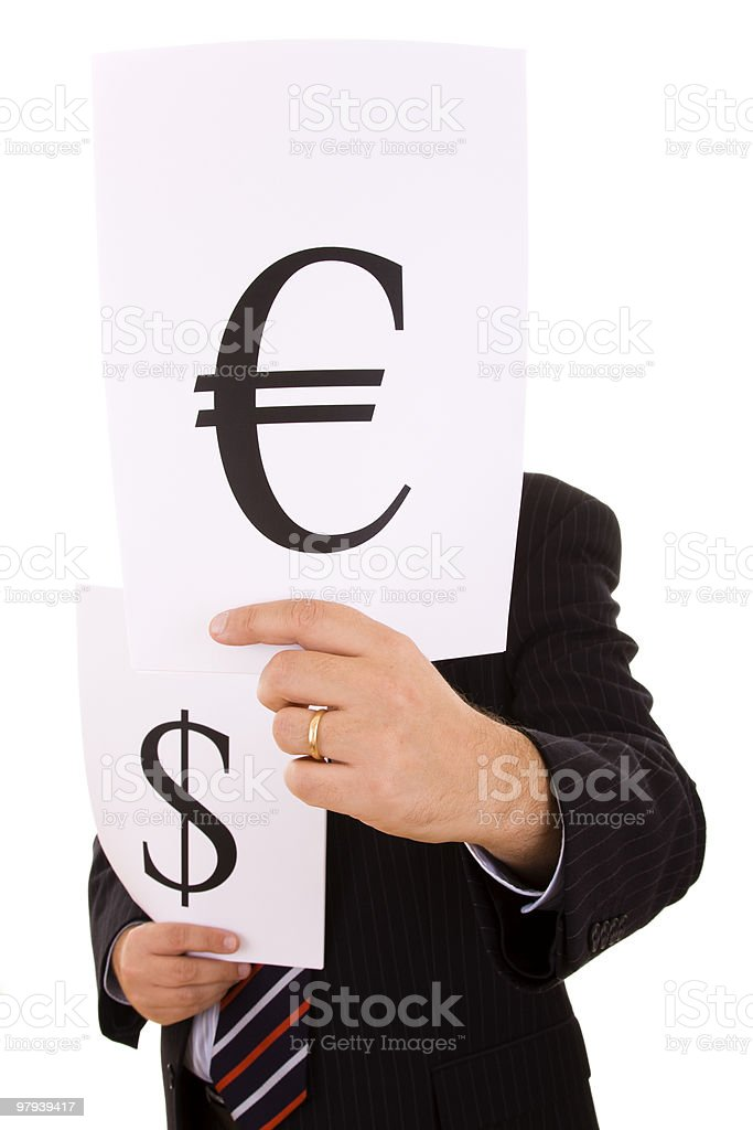 money expert businessman royalty-free stock photo