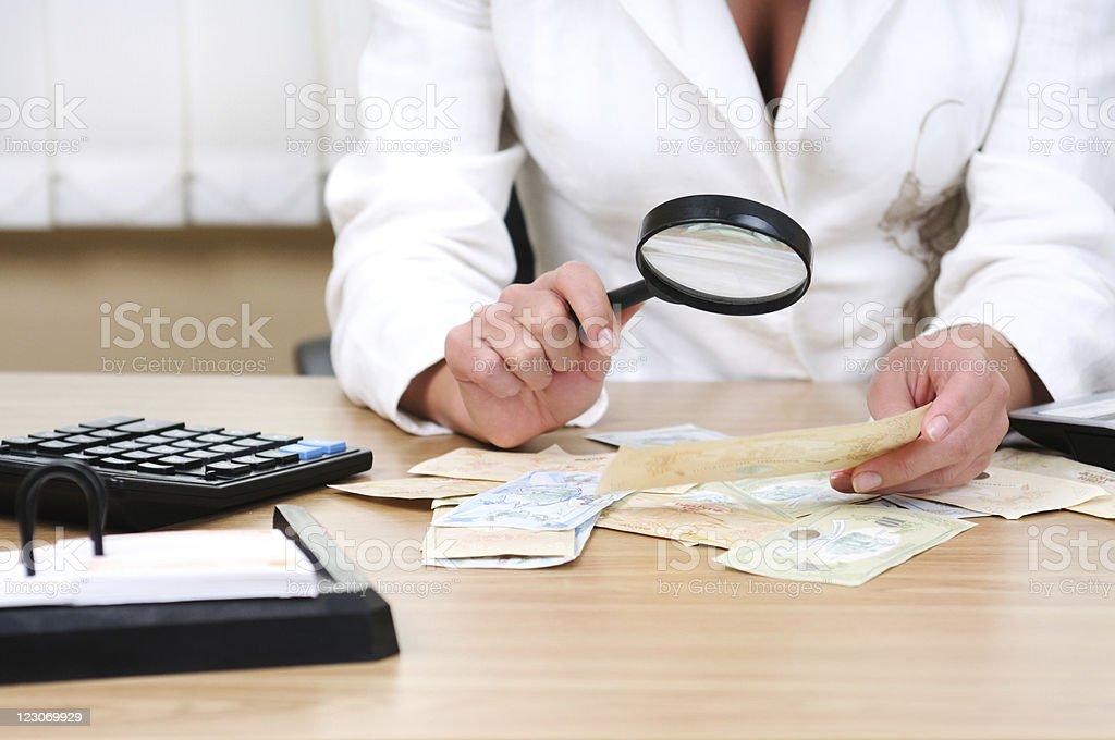 Money expertise royalty-free stock photo