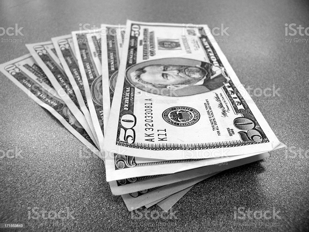 Money Fan royalty-free stock photo