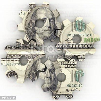 istock Money finance gear cogwheel 964172134