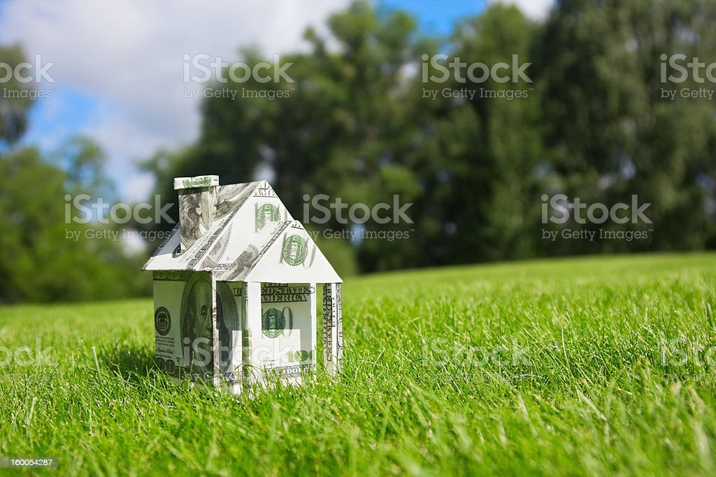 money for a new home stock photo