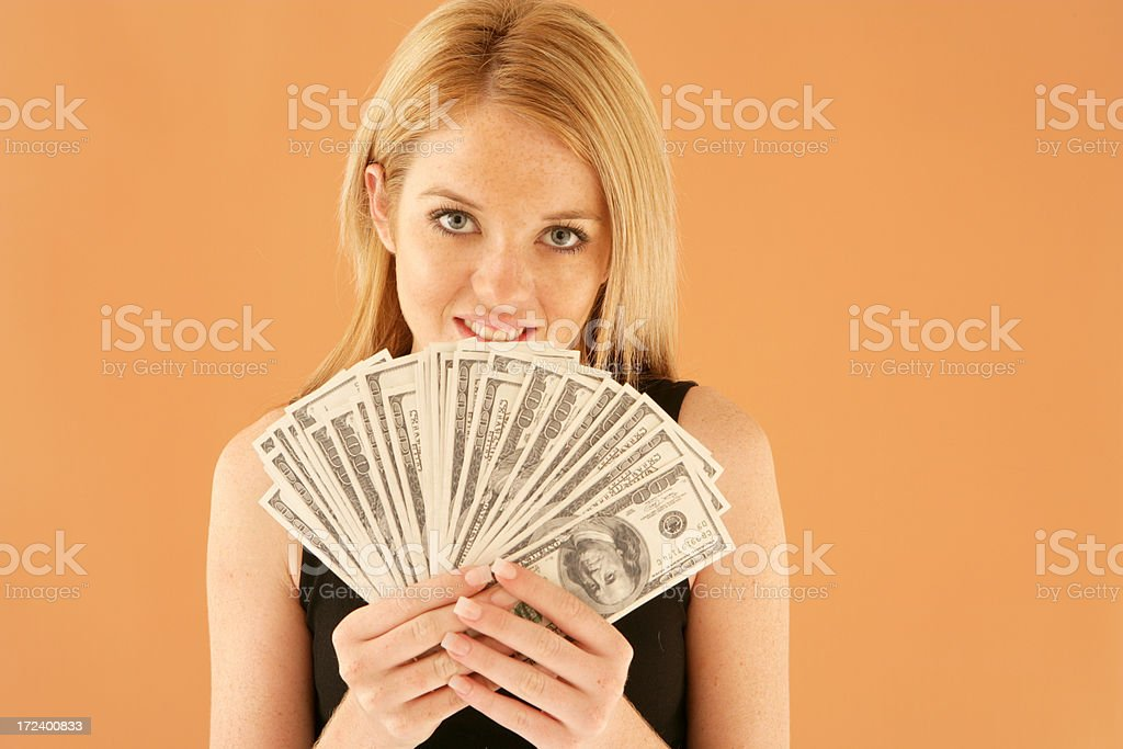 Money For Me royalty-free stock photo
