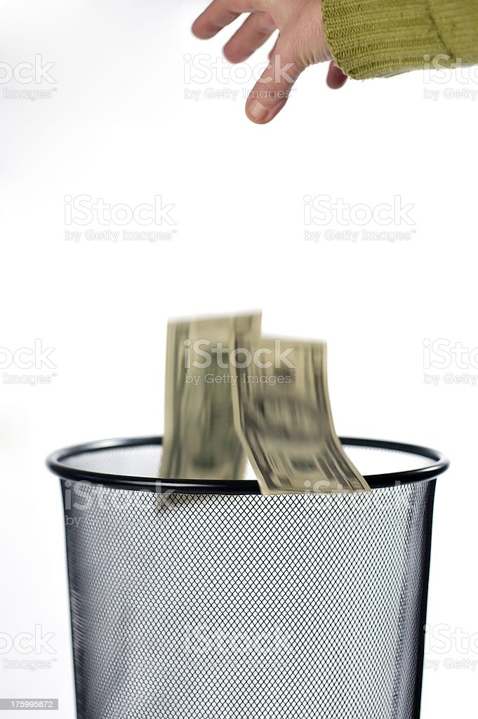 Money for nothing royalty-free stock photo