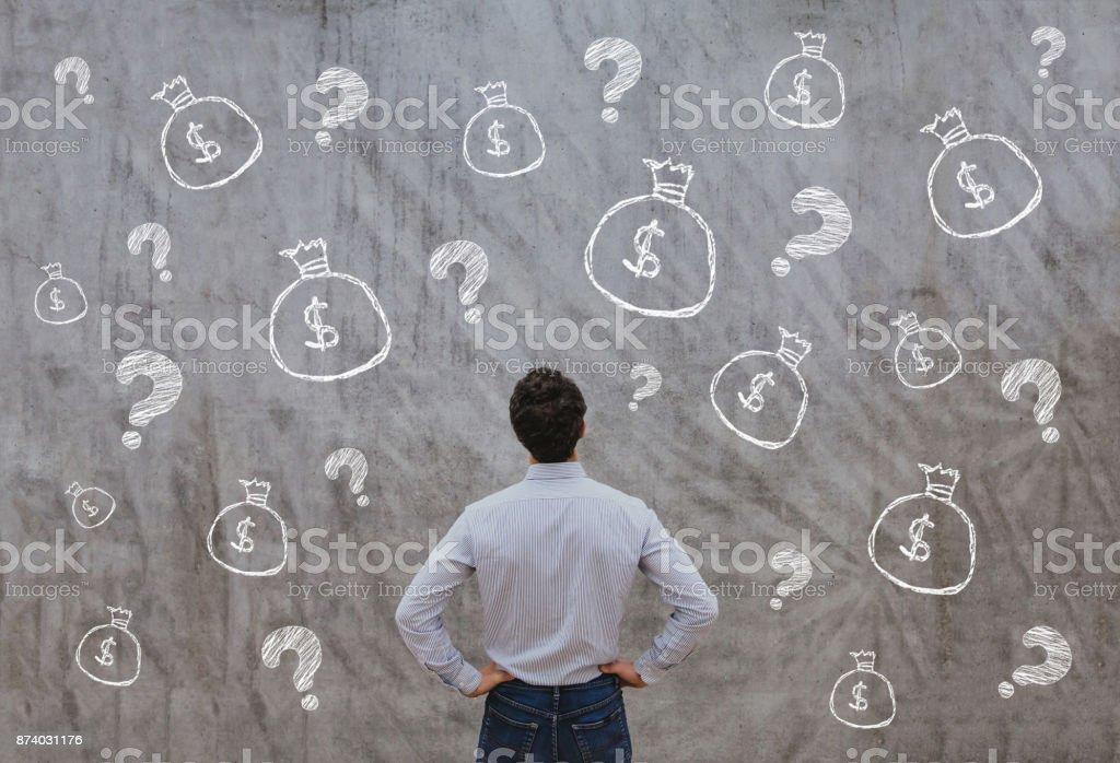 創業的資金, 經營理念 - 免版稅一個人圖庫照片