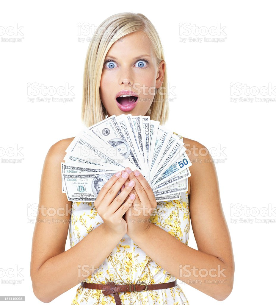 Money for the imagination royalty-free stock photo