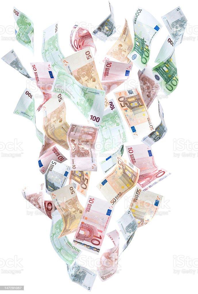 money fountain (XXXL) stock photo