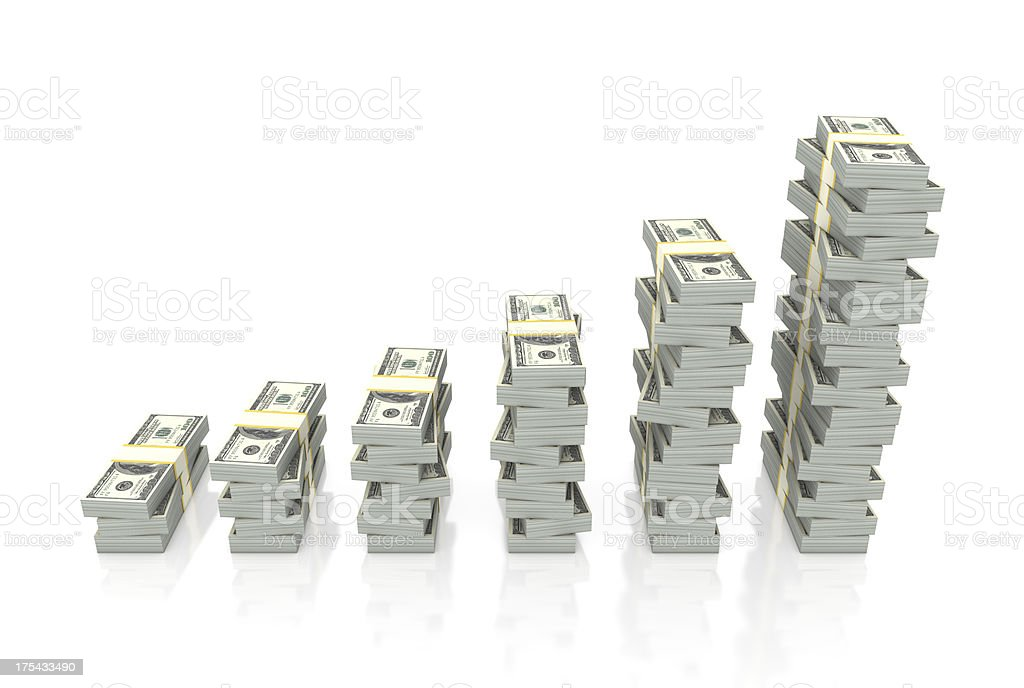 Money Graph stock photo