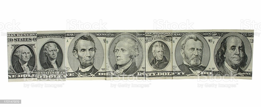 Money Hall of Fame royalty-free stock photo