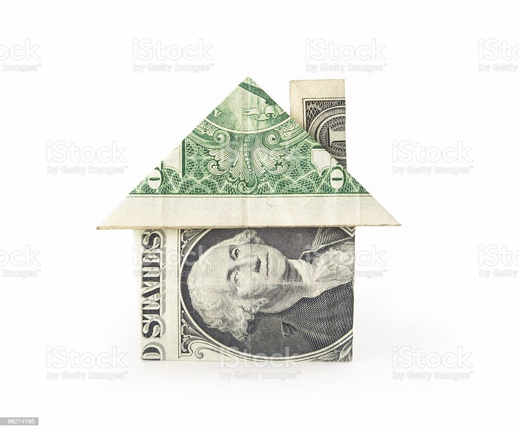 Money Hosue royalty-free stock photo