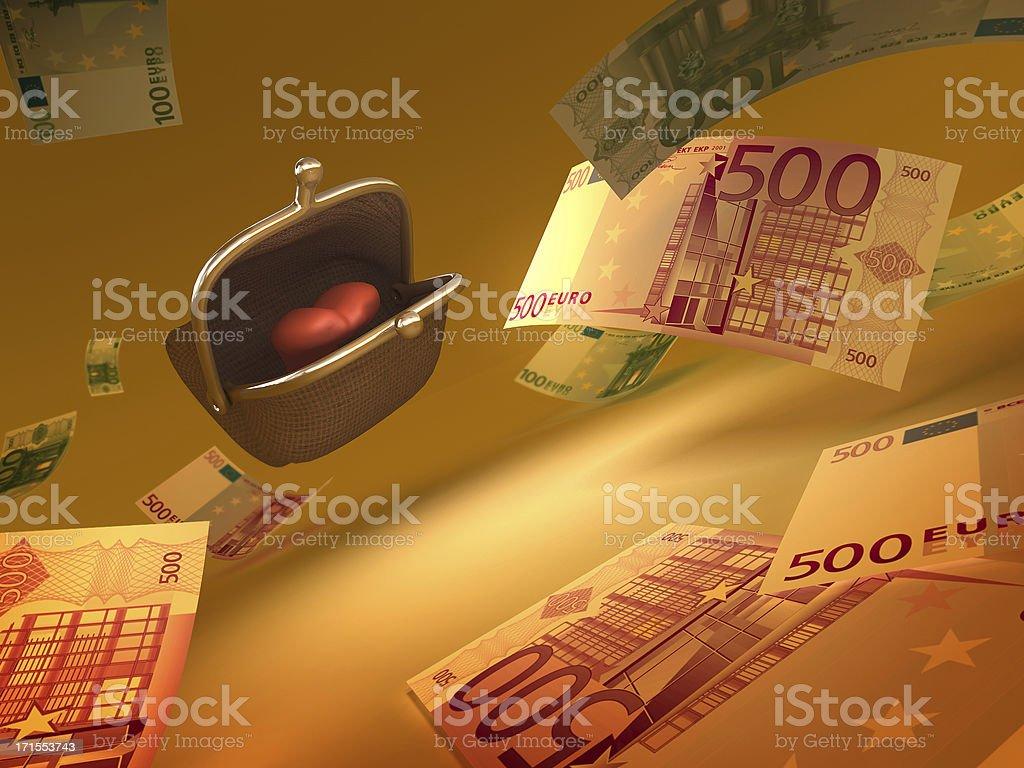 Money Hunter stock photo