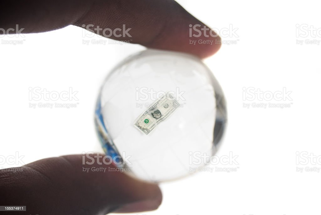 money in the future? royalty-free stock photo